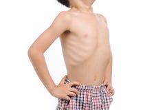 Poor boy rip Stock Image