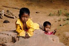 Poor Children Stock Photos