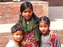Poor children Stock Image