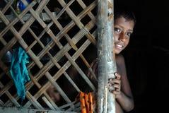 Poor Children in India Stock Images