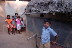 Poor Children in India Royalty Free Stock Photo