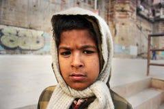 Poor Children in India Stock Photo