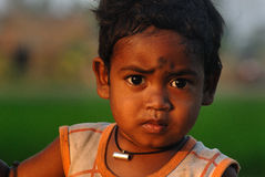 Poor Children in India Stock Images
