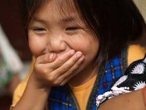 Poor children , smile Stock Image