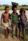 Poor Children Royalty Free Stock Photo