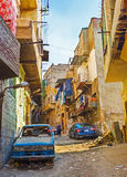 The poor districts of Cairo Royalty Free Stock Images