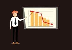 Poor economy concept Stock Image