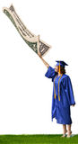 Poor Graduate Stock Photography