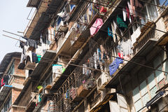 Poor home in China, Wuhan District Royalty Free Stock Photo
