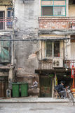 Poor home in China, Wuhan District Stock Images
