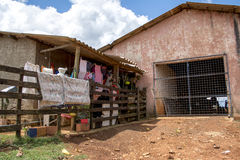 Poor house. In latin america royalty free stock photo