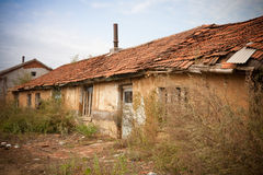 Poor housing. In a village, north east of China royalty free stock images