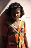 Poor indian girl Royalty Free Stock Photos