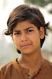 Poor indian girl portrait Stock Photography