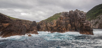 Poor Knights Islands. View of Poor Knights Islands. Tutukaka Coast, New Zealand royalty free stock images
