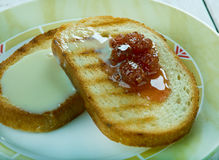 Poor knights of Windsor. French toast Stock Photography