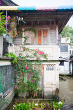 Poor life in Thailand, poor houses in Asia Stock Photography