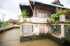 Poor life in Thailand, poor houses in Asia Royalty Free Stock Photography