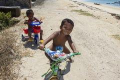 Poor needy children Royalty Free Stock Photo