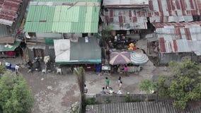 Poor people in Bangkok