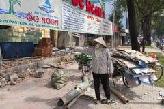 Poor people in Vietnam Stock Images
