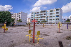 Poor residential area in Trinidad, Cuba Royalty Free Stock Photography
