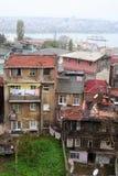Poor settlement landscpe Stock Photography