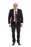 Poor Sight standing Businessman Stock Images