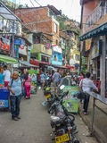 Poor Town in Medellin Colombia Stock Image