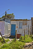Poor township - South Africa Royalty Free Stock Photos