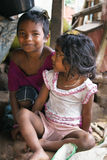 Poor tribal children of India Stock Photos