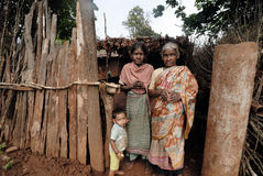 Poorest People in Orissa Stock Images