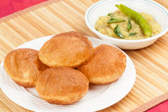 Poori Saagu Royalty Free Stock Images