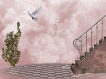 Poort 5 van de hemel stock illustratie