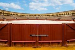 Poort aan het stieregevecht Royalty-vrije Stock Fotografie