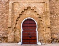 Poort bij de Koutoubia-Moskee in Marrakech Marokko Royalty-vrije Stock Afbeelding
