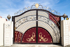 Poort in Oman Stock Afbeeldingen