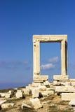 Poort van Apollon Temple Royalty-vrije Stock Fotografie