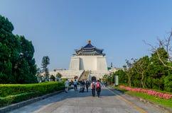 Poort van de herdenkingszaal van Chiang Kai Sek Stock Fotografie