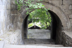 Poort van de oude stad van het chongqing stock fotografie