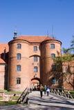 Poort van een oude kathedraal Royalty-vrije Stock Foto's