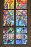 Poort van het Kasteel van Praag Stock Fotografie