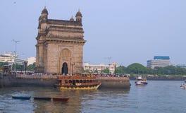 Poort van India in Mumbai stock afbeeldingen