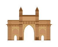 Poort van India, Mumbai Bombay Vector illustratie vector illustratie