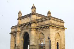 Poort van India in Mumbai-gezicht royalty-vrije stock afbeeldingen