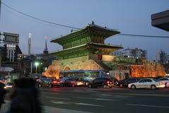 Poort van Korea Stock Foto's