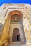 Poort van Rechtvaardigheid, Puerta DE La Justicia, Alhambra, Granada, Spanje, Royalty-vrije Stock Foto's