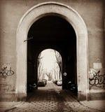 poort van Warshau Stock Afbeelding