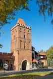 Poort Wroclaw, de stad Olesnica royalty-vrije stock foto's