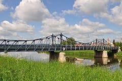 Poortbrug, Tsjechische Kostelany, royalty-vrije stock afbeeldingen